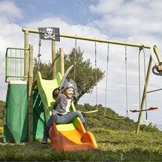 balan oire portique aire de jeux enfants leroy merlin. Black Bedroom Furniture Sets. Home Design Ideas