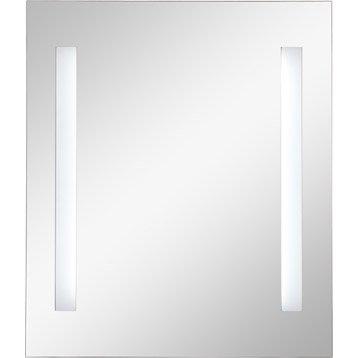 Miroir de salle de bains accessoires et miroirs de salle - Miroir lumineux leroy merlin ...