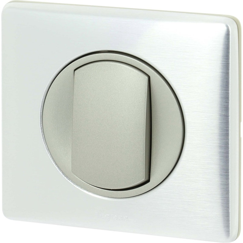 Interrupteur Va Et Vient Céliane Aluminium Legrand