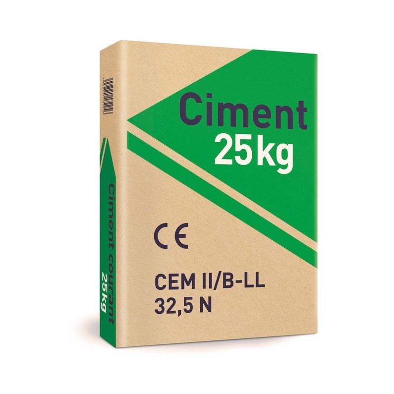 Ciment Gris U1 Cimalit 25kg