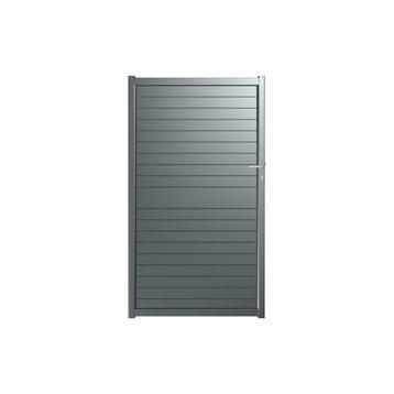 Portillon aluminium, bois, fer, PVC au meilleur prix   Leroy Merlin