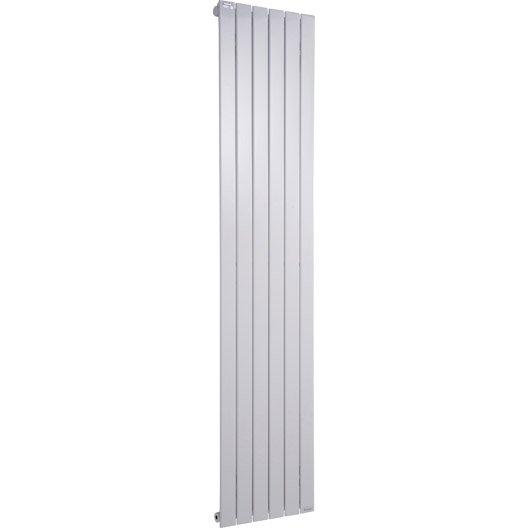 Radiateur chauffage central lina blanc cm 930 w for Radiateur extra plat eau chaude