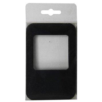 Lot de 5 magnets Cadre m, noir l.8 x H.11.8 cm