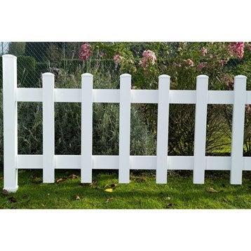 Traverse de clôture de 120 cm