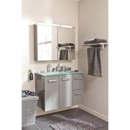Armoire de toilette Neo SENSEA | Leroy Merlin