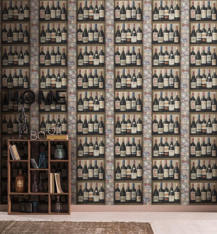 habiller le mur de la salle manger avec un poster mural d 39 hortensias bleus leroy merlin. Black Bedroom Furniture Sets. Home Design Ideas