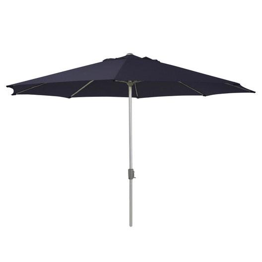 parasol droit rhea gris octogonal x cm leroy merlin. Black Bedroom Furniture Sets. Home Design Ideas