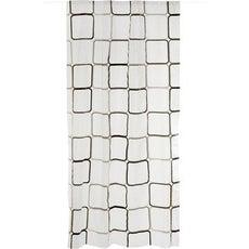 Barre et rideau de douche accessoires et miroirs de - Rideau plastique transparent ...