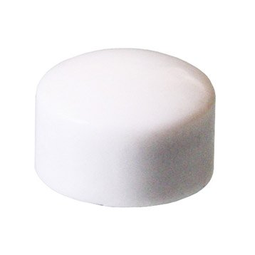 Lot de 10 magnets Classic rond, blanc l.6.7 x H.11 cm
