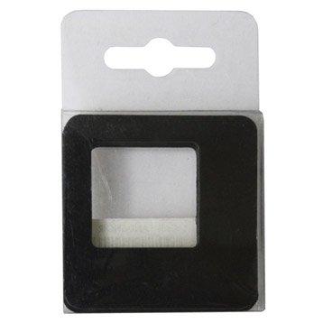 Lot de 5 magnets Cadre s, noir l.5.8 x H.5.8 cm