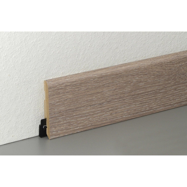 plinthe sol stratifi d cor n 40 cm x x mm leroy merlin. Black Bedroom Furniture Sets. Home Design Ideas