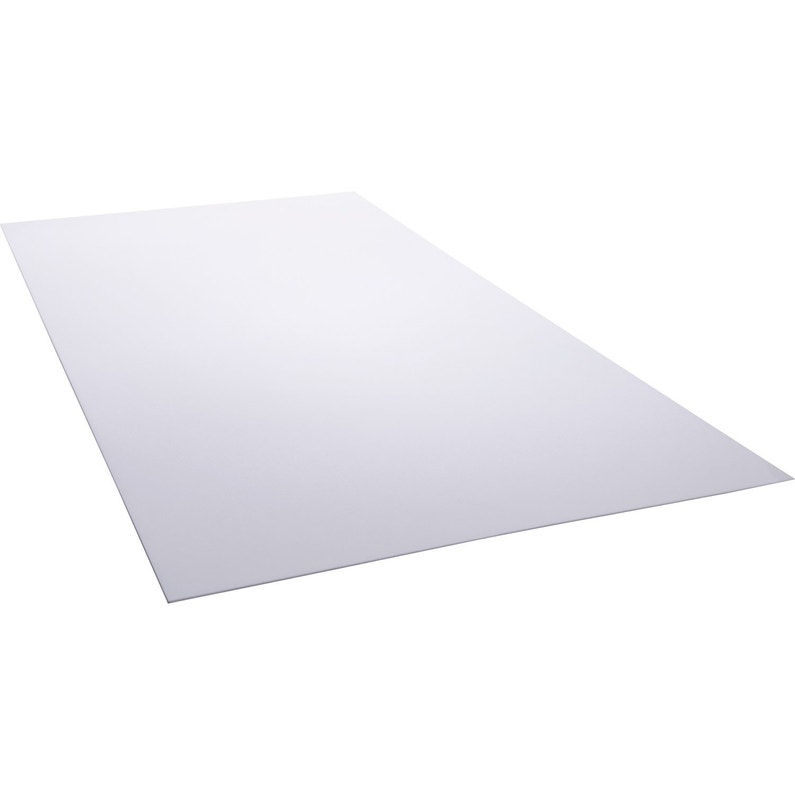 Plaque Blanc Laiteux L200 X L100 Cm 25 Mm