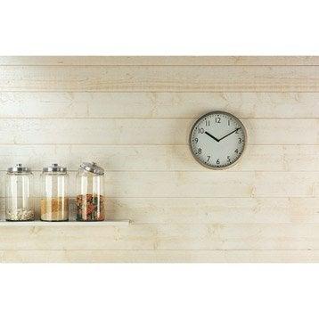 lambris bois brut lambris mdf leroy merlin. Black Bedroom Furniture Sets. Home Design Ideas
