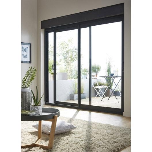 volet roulant motoris radio aluminium isol x cm leroy merlin. Black Bedroom Furniture Sets. Home Design Ideas