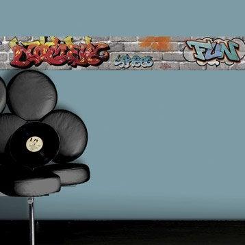Frise vinyle adhésive Tag L.5 m x l.15 cm