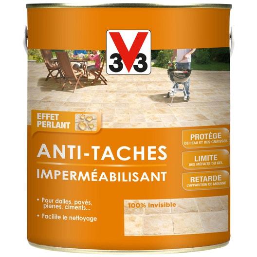 impermabilisant sol extrieur intrieur antitache v33 incolore 25 l
