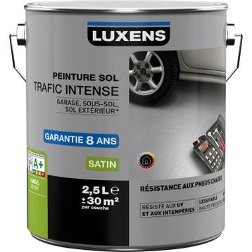 Peinture sol ext rieur et garage peinture sur b ton - Peinture pour mur de garage ...