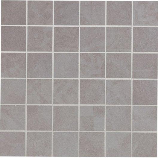 mosaïque et galets pour carrelage de salle de bains | leroy merlin - Salle De Bain Mosaique Bleu
