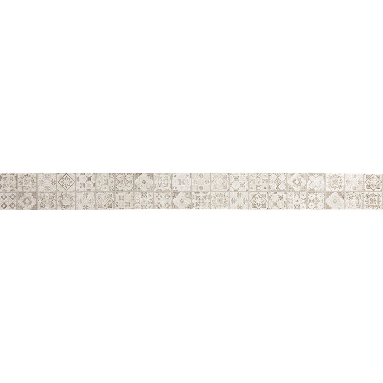 Listel Mosaic Beige L 5 7 X L 60 Cm Leroy Merlin