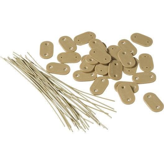 28 fixation pour canisse plastique ou bambou naterial for Bambou plastique