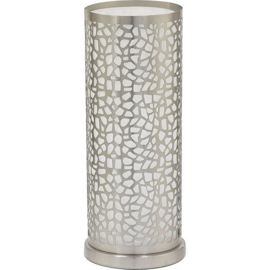 lampe, e27 almera eglo, verre transparent, 60 w | leroy merlin