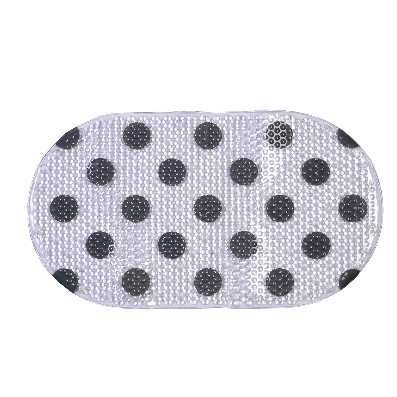 tapis antid rapant transparent pour baignoire polka. Black Bedroom Furniture Sets. Home Design Ideas