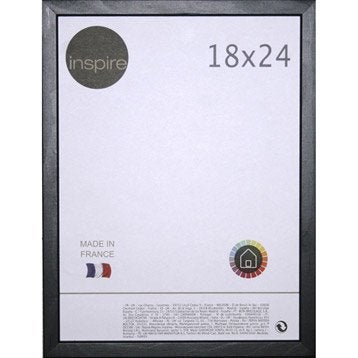 Cadre Kawaï, 18 x 24 cm, noir-noir n°0