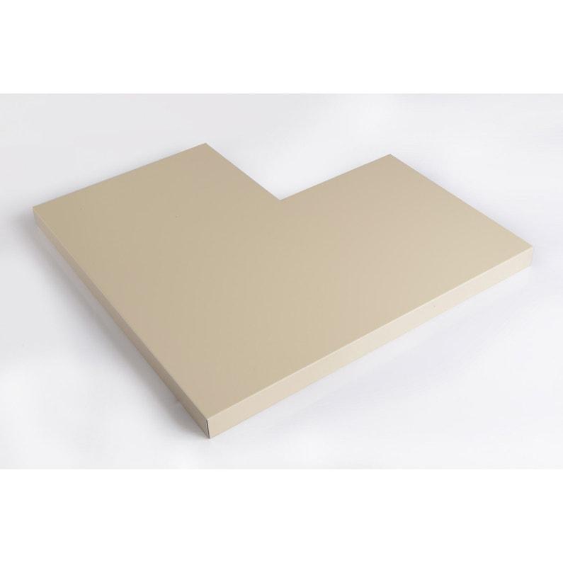 Angle Pour Couvertine Aluminium 500 X 500 Lmc Virano Sable L05 M