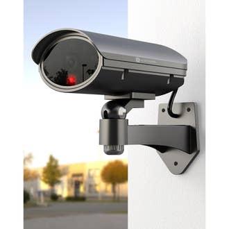 Caméra factice métal avec led clignotante, SMARTWARES Cs22dfr ... 9bddbd328435