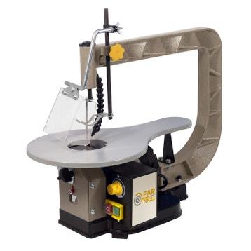Scie lectrique stationnaire machine d 39 atelier for Scie a chantourner leroy merlin
