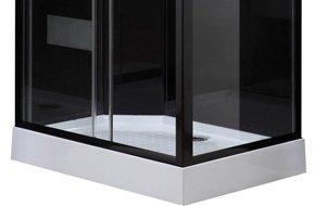 Cabine de douche rectangulaire 110x80 cm loly leroy merlin - Cabine de douche rectangulaire 110 x 80 ...
