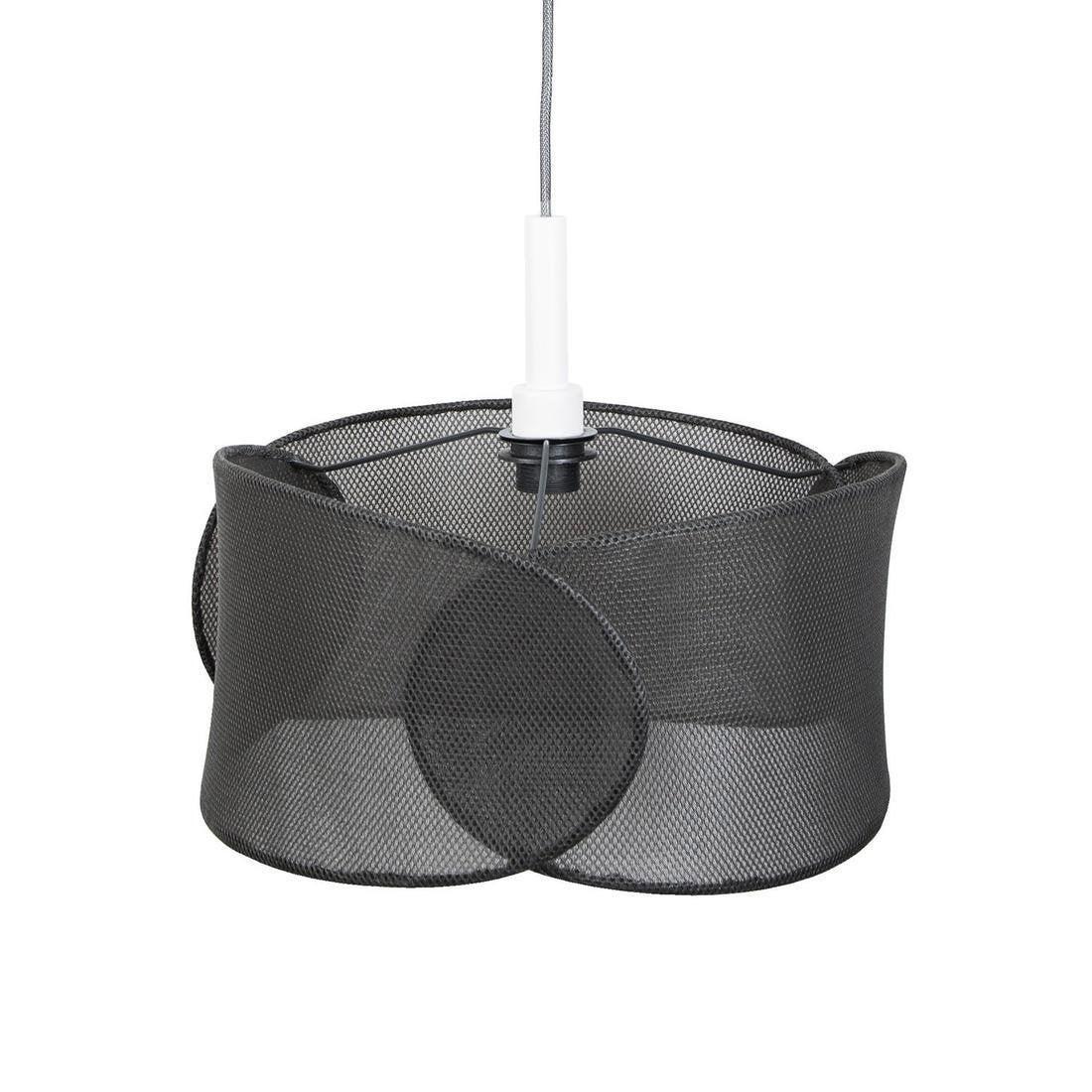 Suspension, design métal noir MARBELLA LIGHTING Net 1 lumière(s) D.40 cm