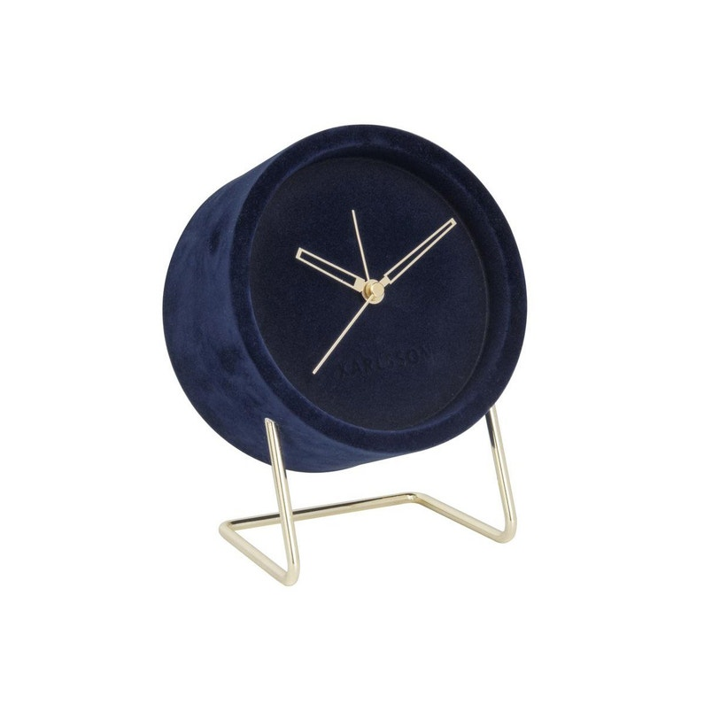 Horloge Métal Lush Ronde D14 Karlsson L X H Cm