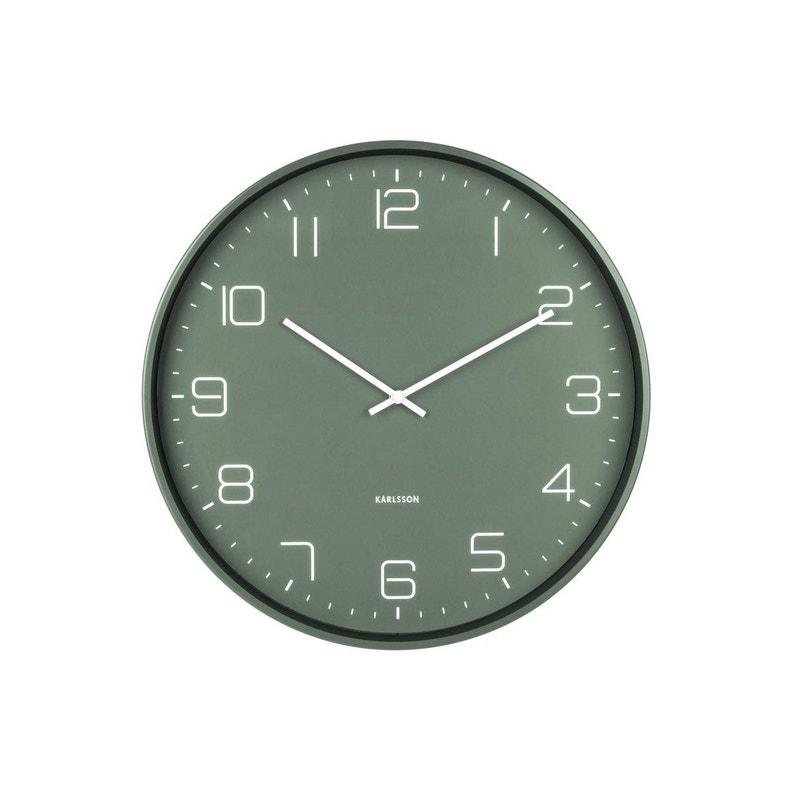 Horloge Métal Lofty Ronde Karlsson Diam40 Cm
