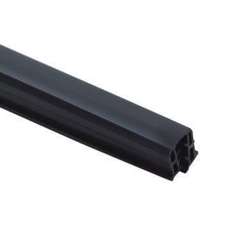 Joint acrylique à emboîter noir, L.145 x H.2.3 cm x Ep.28 mm