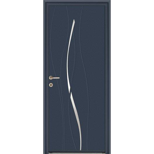 porte d 39 entr e sur mesure au meilleur prix leroy merlin. Black Bedroom Furniture Sets. Home Design Ideas