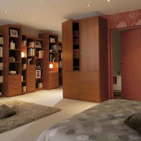 L'éclairage dans la chambre
