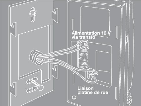 comment installer un interphone filaire leroy merlin. Black Bedroom Furniture Sets. Home Design Ideas