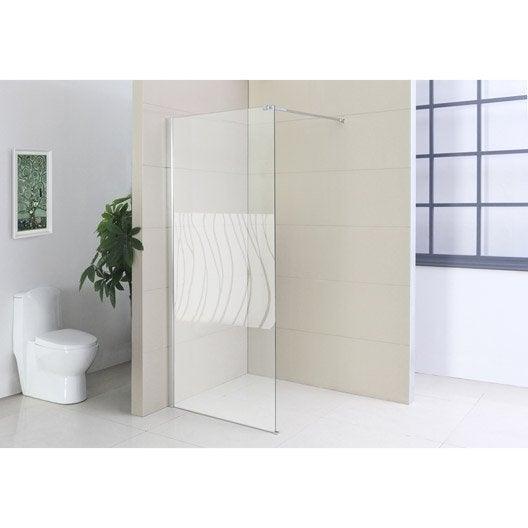paroi de douche l 39 italienne leo profil chrom cm. Black Bedroom Furniture Sets. Home Design Ideas