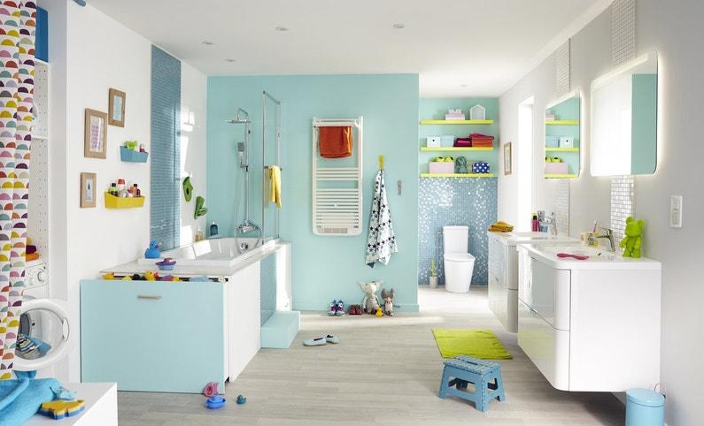 la salle de bains comme deuxi me salle de jeux leroy merlin. Black Bedroom Furniture Sets. Home Design Ideas