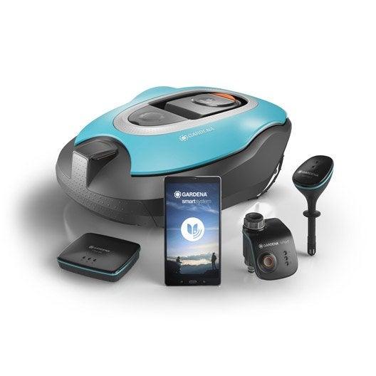 tondeuse robot objet connect tondeuse gazon leroy merlin. Black Bedroom Furniture Sets. Home Design Ideas