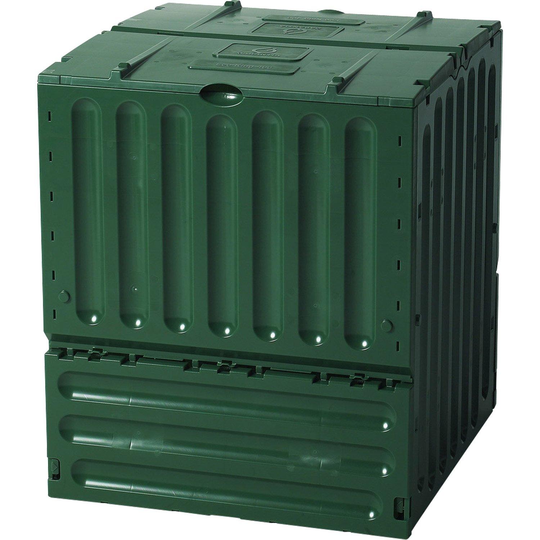 composteur monobloc garantia 627001 vert sapin 600 l. Black Bedroom Furniture Sets. Home Design Ideas