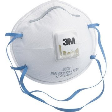 Lot de 3 masques antipoussière 3M PROTECT