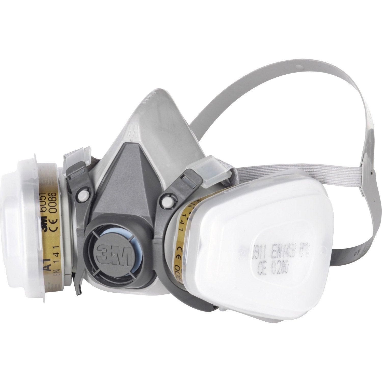 masque de protection peinture et vernis 3m protect leroy merlin. Black Bedroom Furniture Sets. Home Design Ideas