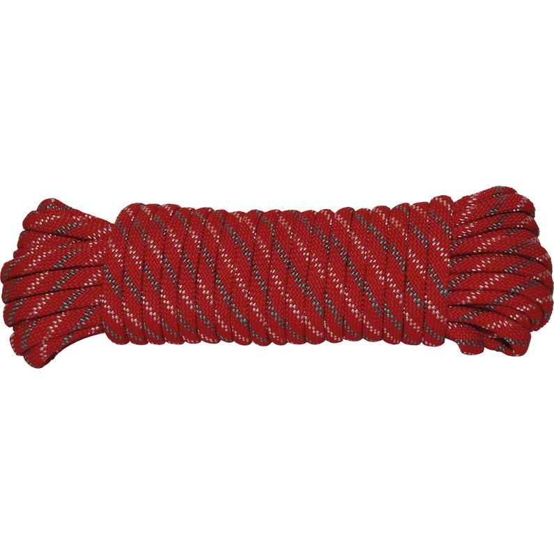 Corde Tressée En Polypropylène Diam6mm 10m