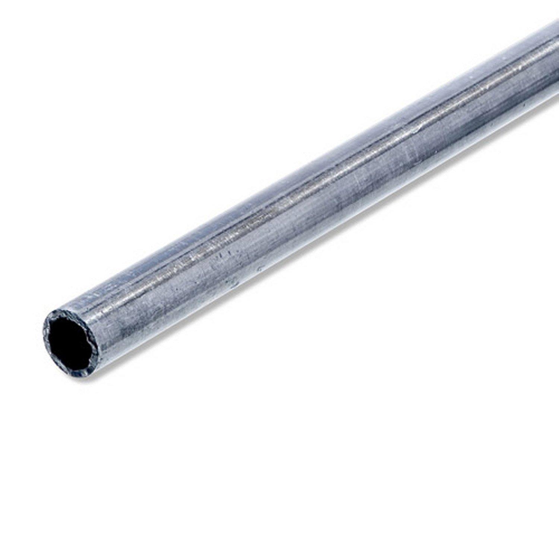 tube rond acier inoxydable brut l 1 m x mm leroy merlin. Black Bedroom Furniture Sets. Home Design Ideas