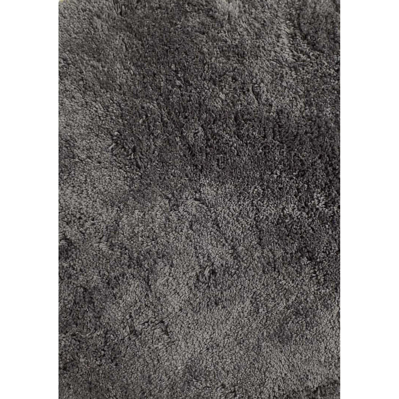 Tapis gris foncé rectangulaire, l.120 x L.170 cm Agathe