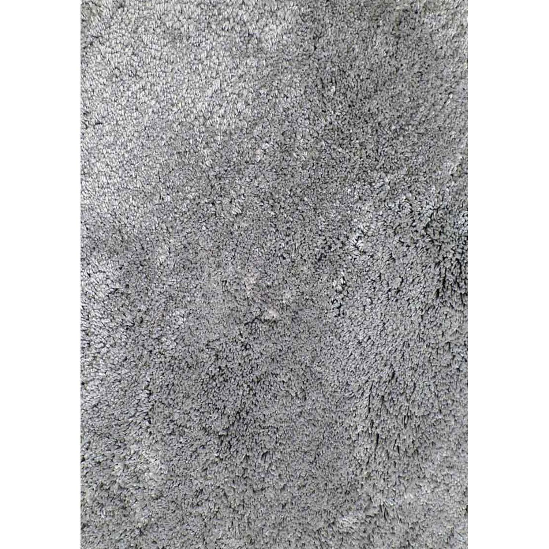 Tapis gris clair rectangulaire, l.120 x L.170 cm Agathe