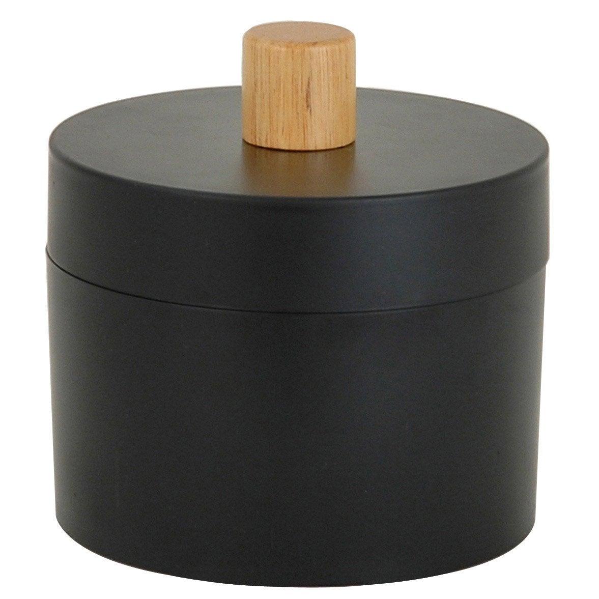 Boîte de rangement nomade en plastique noir noir 0, Scandi