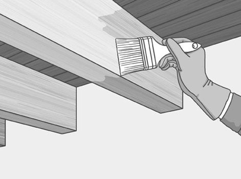 comment r nover les poutres apparentes leroy merlin. Black Bedroom Furniture Sets. Home Design Ideas